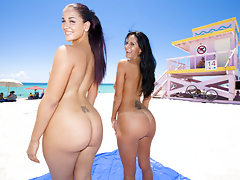 Ava Addams and Miss Raquel